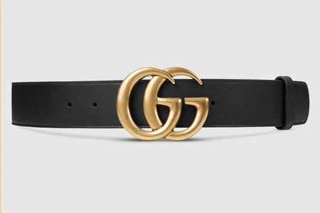 Every once in a while, a product is so popular that it's impossible to ignore, and right now it's Gucci's Leather Belt with Double G Buckle. Priced at $420, this belt is the current celebrity accessory of choice when it comes to cool street style.