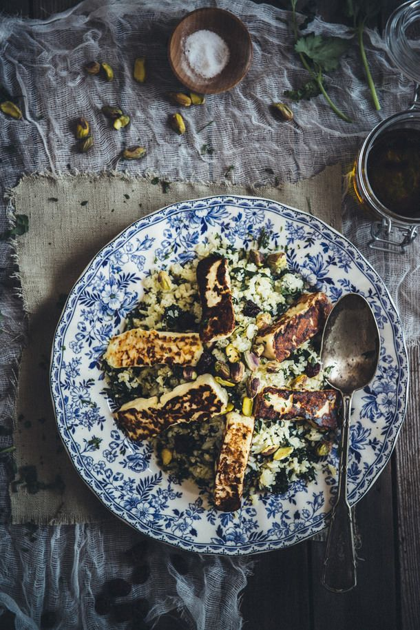 Cauliflower and Halloumi Salad (Souvlaki For The Soul)