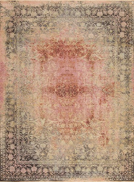 Ancient Wool & Silk - Marathon - Samad - Hand Made Carpets
