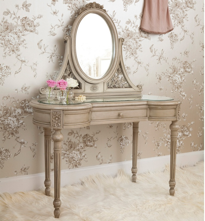 Normandy Painted French Dressing Table  from The French Bedroom Company