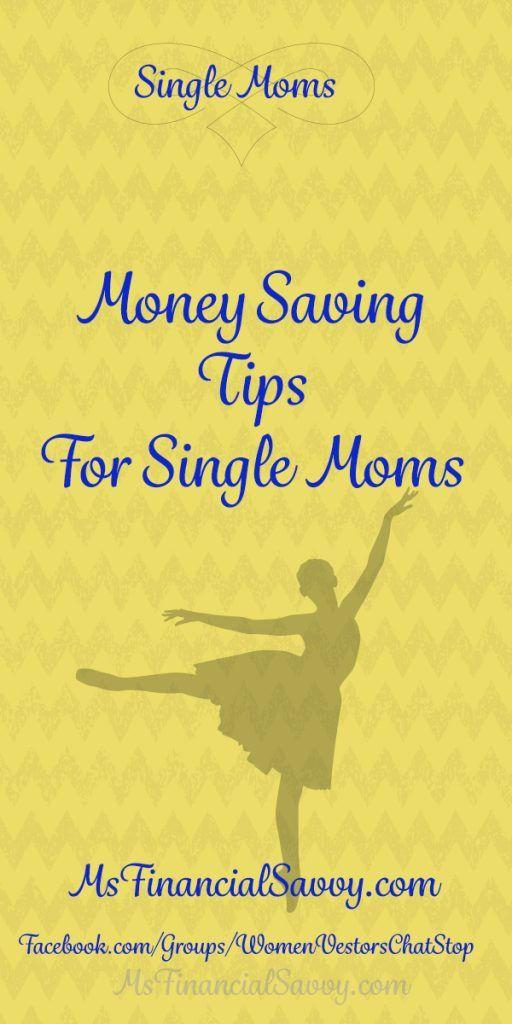 Money Saving tips for single moms, at MsFinancialSavvy