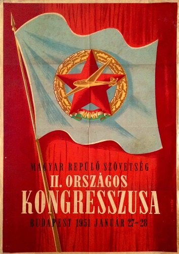 2nd congress of the Hungarian Flying Association (1951)