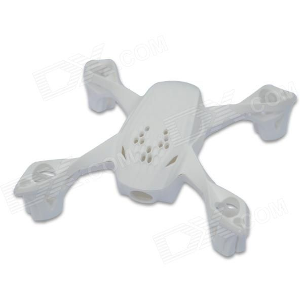 Hubsan H107D-A01 Body Shell for X4 H107D FPV RC Quadcopter - White. Color White Brand Hubsan Model H107D-A01 Material Plastic Quantity 1 Piece Compatible Model Hubsan H107D RC Quadcopter Packing List 1 x Set of Hubsan H107D-A01 Body Shell. Tags: #Hobbies #Toys #R/C #Toys #Other #Accessories