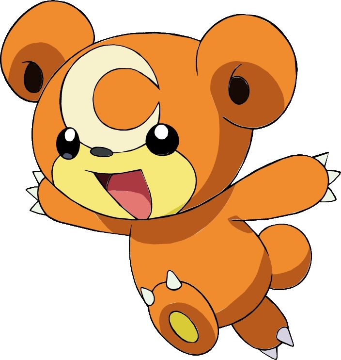 Pokemon Dream Team. I am going to choose 1 Pokemon from each Generation for my Dream Team, choosing up to 1 legendary. Gen 2 - Teddiursa, because he's SO CUTE!! I can also teach him some really good attacks :D