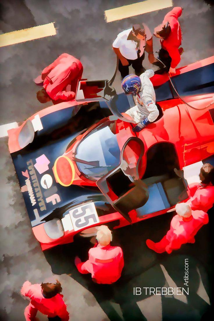 IB TREBBIEN – Poster – Kremer Porsche