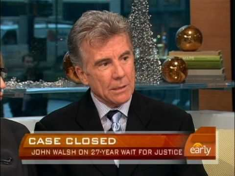 John Walsh, Founder of the National Center for Missing and Exploited Children