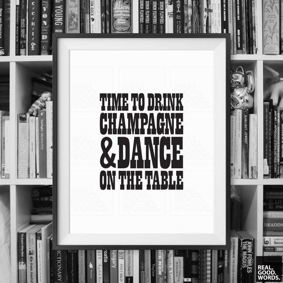 Inspirational Wall Decor Art Print danza sulla di RealGoodWords
