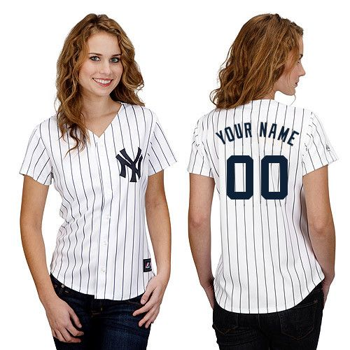 New York Yankees Women's Personalized Replica Jersey by Majestic Athletic  XXL - MRS POSADA