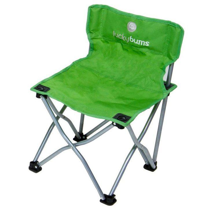 Outdoor Lucky Bums Kids Camp Chair - Green - 187GR