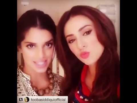 Sanam Saeed Challenges Meesha Shaafi in the Dobara Phir Se Truth Or Dare...