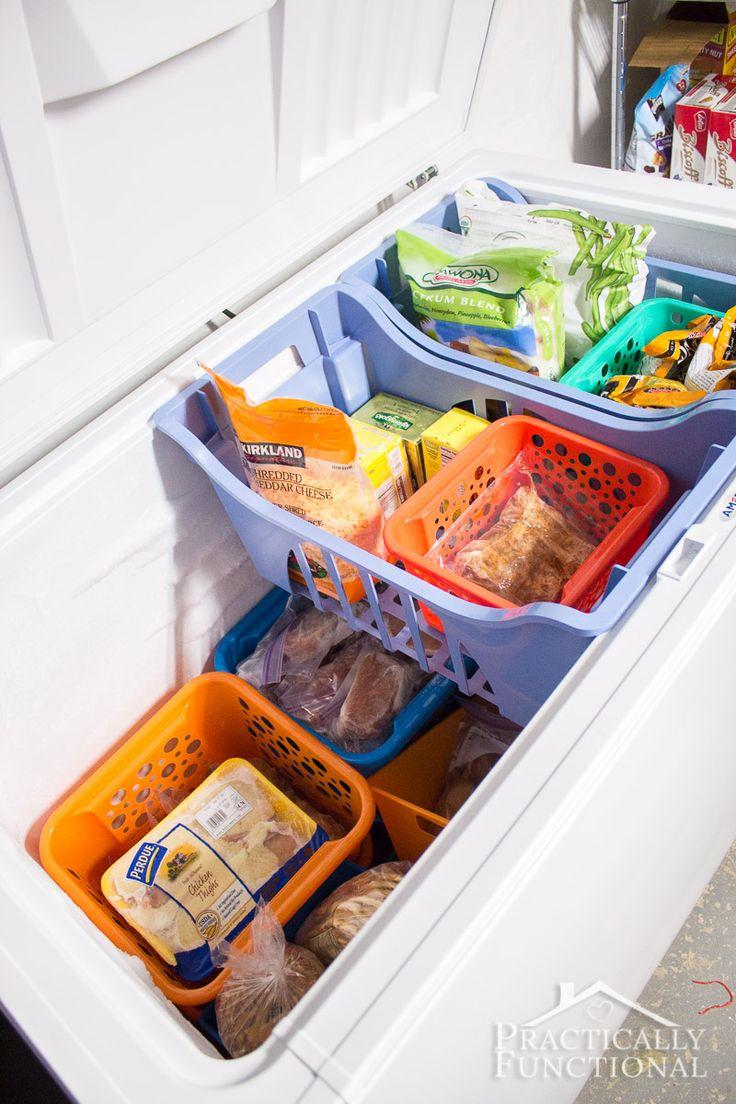 best 20 organize chest freezer ideas on
