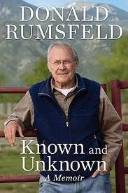 Known and Unknown, by Donald Rumsfeld via Relatably.com