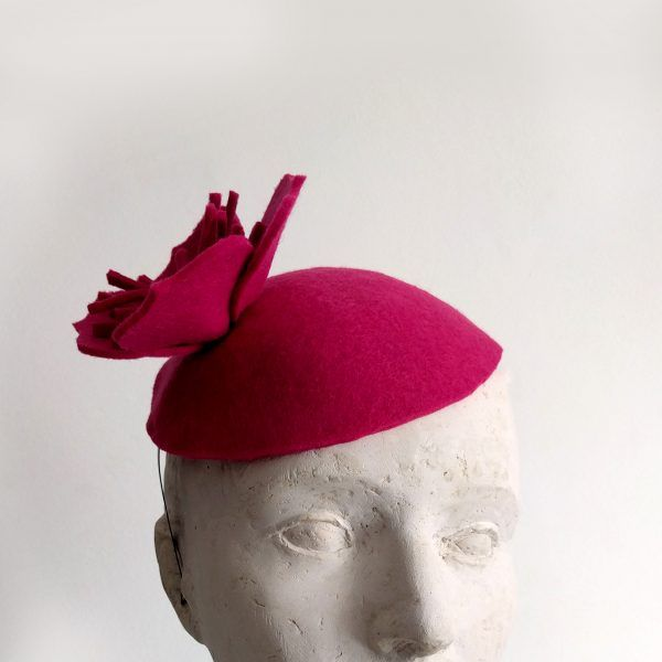 ROSA Fascinator hat made by Eventivity Accessorize