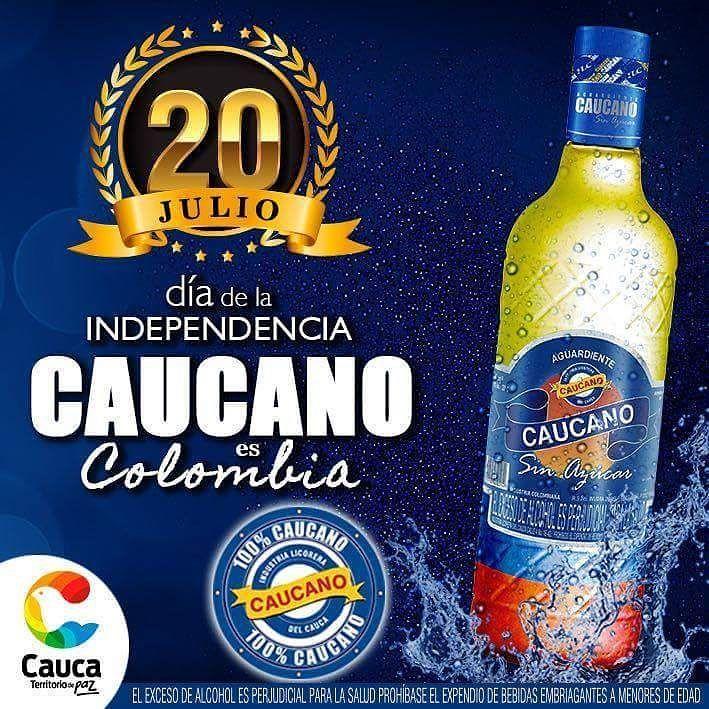 Hoy celebramos que hace 207 años se iniciaron los sucesos que llevaron a la independencia de la Patria una oportunidad mas para reafirmar nuestro orgullo como Caucanos y como Colombianos. Viva Colombia! #CaucaTerritoriodePaz  Vía: @aguardientecaucano  @jpmattacasas