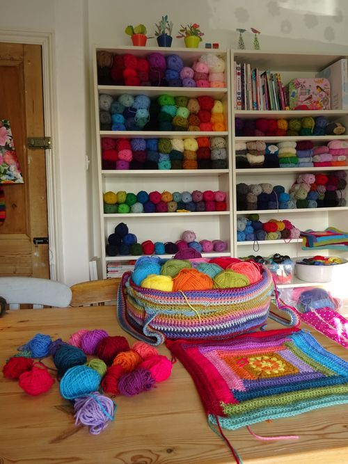Pretty much my favorite crochet blog. Love love love her colors and patterns @attic24