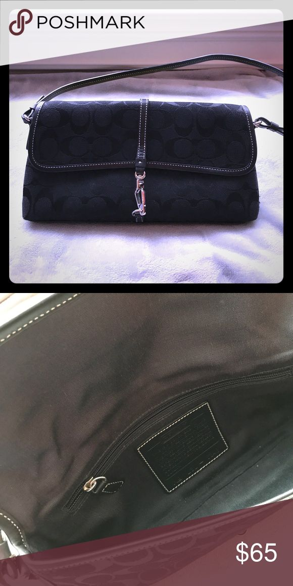 COACH small bag Excellent condition small black COACH purse   Style# 6348 Coach Bags Mini Bags
