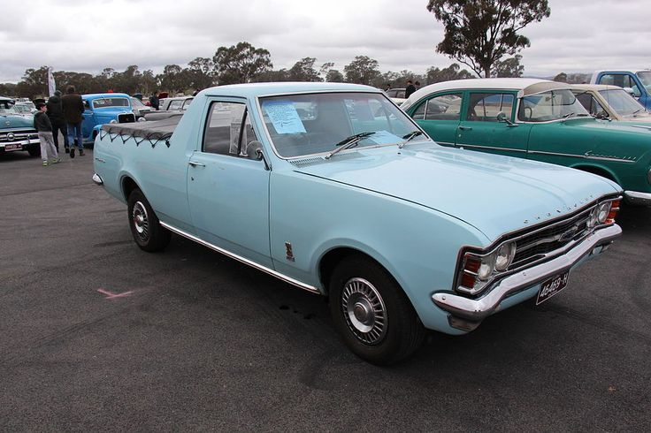 Chevrolet El Camino (a Holden Utility HT assembled in South Africa)