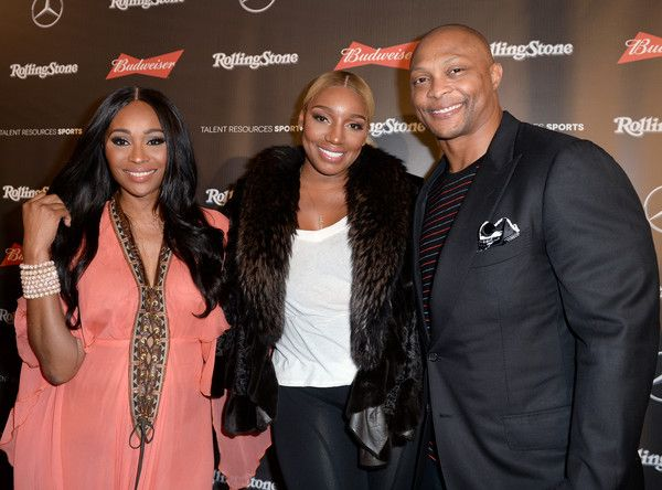 NeNe Leakes Photos Photos - (L-R) TV personalities Cynthia Bailey and NeNe Leakes and former NFL player Eddie George at the Rolling Stone Live: Houston presented by Budweiser and Mercedes-Benz on February 4, 2017 in Houston, Texas. Produced in partnership with Talent Resources Sports. - Rolling Stone Live: Houston Presented by Budweiser and Mercedes-Benz. Produced in Partnership With Talent Resources Sports. - Arrivals