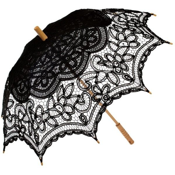 Remedios Wedding Bridal Lace Sun Parasol Umbrella Photo Props... ($22) ❤ liked on Polyvore featuring accessories, umbrellas, bride umbrella, lace umbrella, remedios and bridal umbrellas