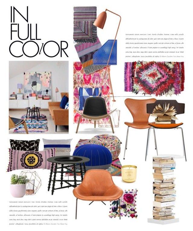 """full colors"" by homeluz ❤ liked on Polyvore featuring interior, interiors, interior design, casa, home decor, interior decorating, Tulu, Surya, Sluiz Ibiza e Designers Guild"