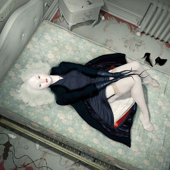 Ray Caesar, La Chambre - The Trouble with Angels, Dorothy Circus Gallery