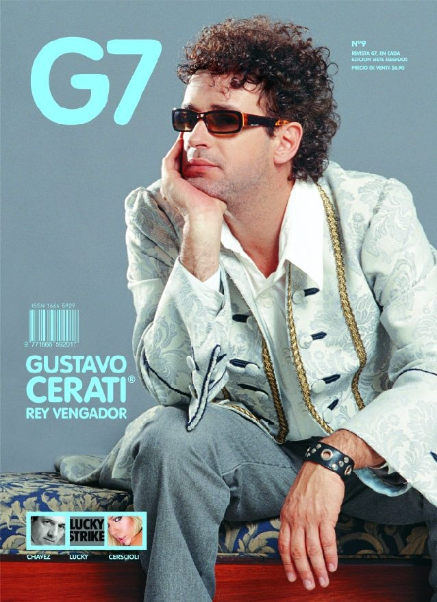 Gustavo Cerati, revista G7