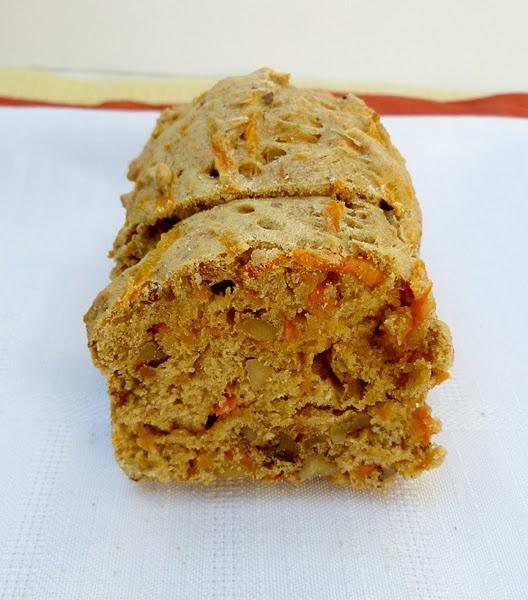 Vegan Mini Carrot-Tahini Loaf   recipes   Pinterest