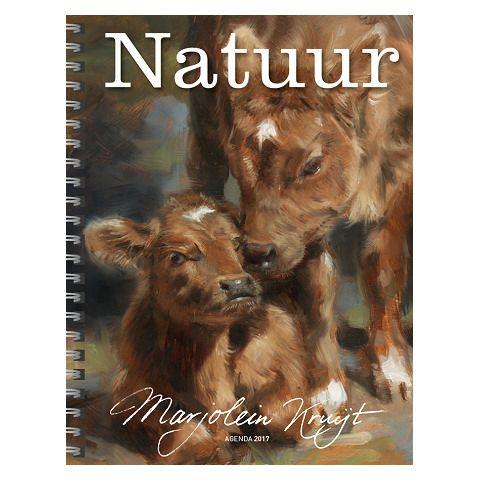 Bestel de Marjolein Kruijt Natuur Agenda 2017 hier om verzekerd te zijn van een exemplaar! Uitgave 2 verschillende covers: kalfjes / pauw. Signeren mogelijk