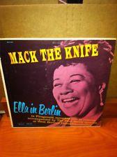 P34 Vintage Mack the Knife Ella Fitzgerald Berlin Verve Records Record MGV4041