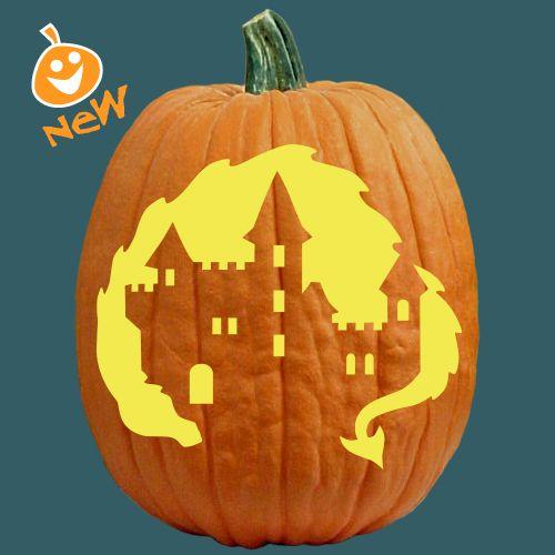 27 best images about fairytale pumpkin carving patterns on for Fairytale pumpkin carving ideas