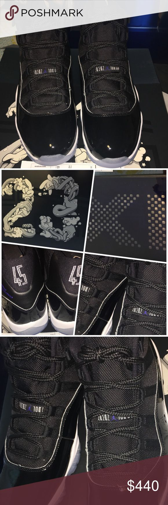 Air Jordan Space Jam 11 retro 2016 the hottest space jam11. 100% authentic. Please ask all the questions before purchasing. No trade. Air Jordan Shoes Sneakers