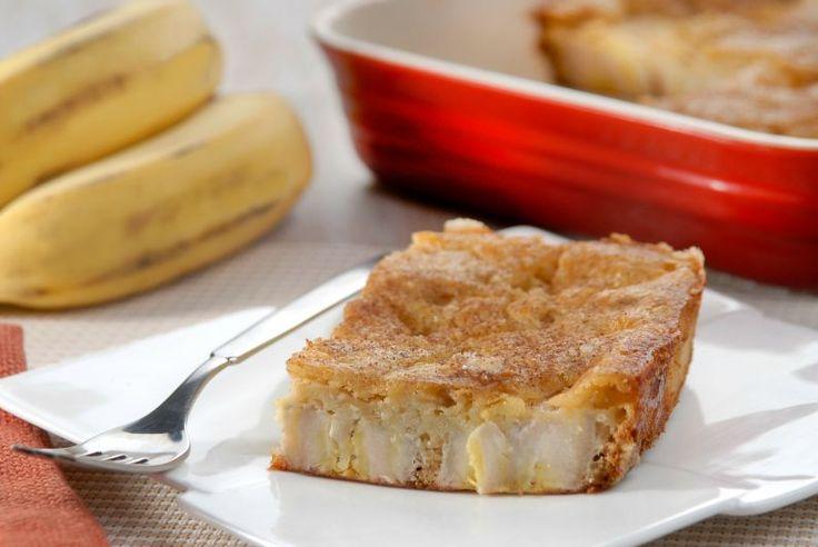 Torta de banana sem açúcar que fica pronta em apenas 20 minutos: passo a passo…