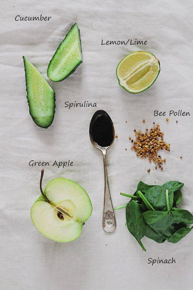 Post-Thanksgiving Green Detox Smoothie | HelloNatural.co (for low carb option replace banana with 1/4 avocado)