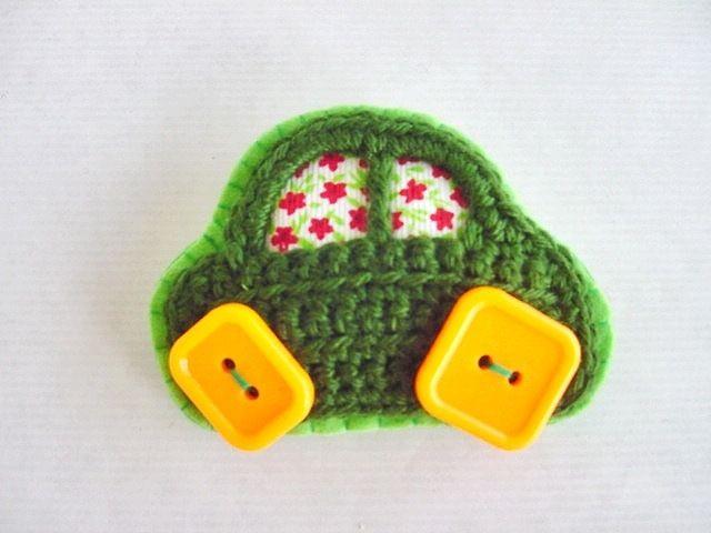 ornament craft: cute motif crochet   make handmade, crochet, craft