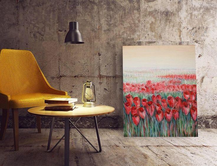 Un preferito personale dal mio negozio Etsy https://www.etsy.com/it/listing/519287307/quadro-moderno-acrilico-tulipani-rossi