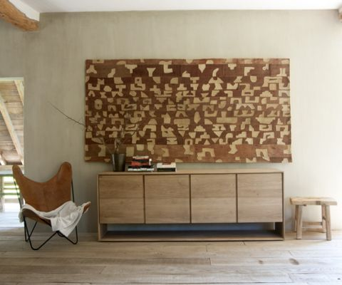 Ethnicraft Oak Nordic Sideboard with 4 doors