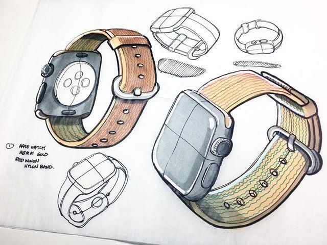 Art by Yasmin Villasenor Watch sketch, Watch drawing