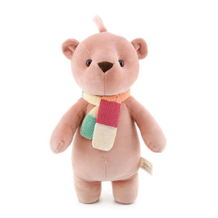 35 см Kawaii Teddy bear мягкие плюшевые игрушки для детей для детей новорожденных девочек мягкие куклы подарки купить на AliExpress