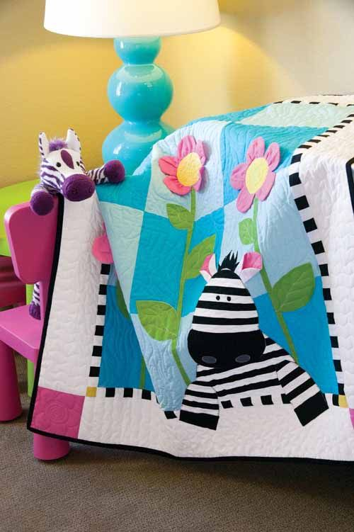 5 Quick Baby Quilts (Quilty Pleasures Blog)                              …