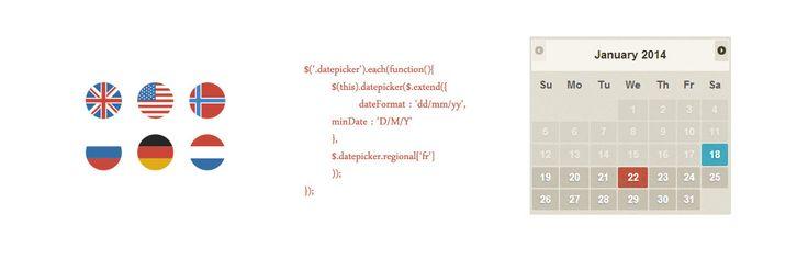 Internationalisation Datepicker jQuery UI