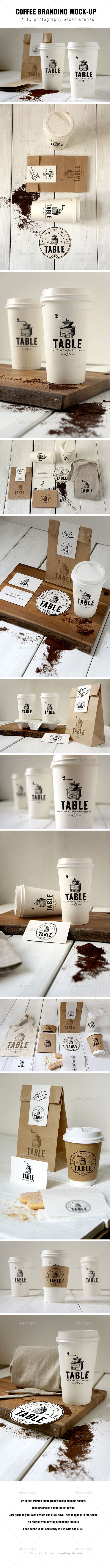 Coffee Branding Mockup #design Download: http://graphicriver.net/item/coffee-branding-mockup/12753492?ref=ksioks