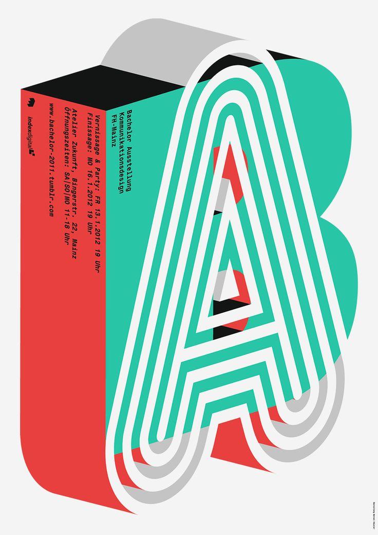 Bachelor Ausstellung Kommunikationsdesign FH-Mainz — Marcel Haüsler
