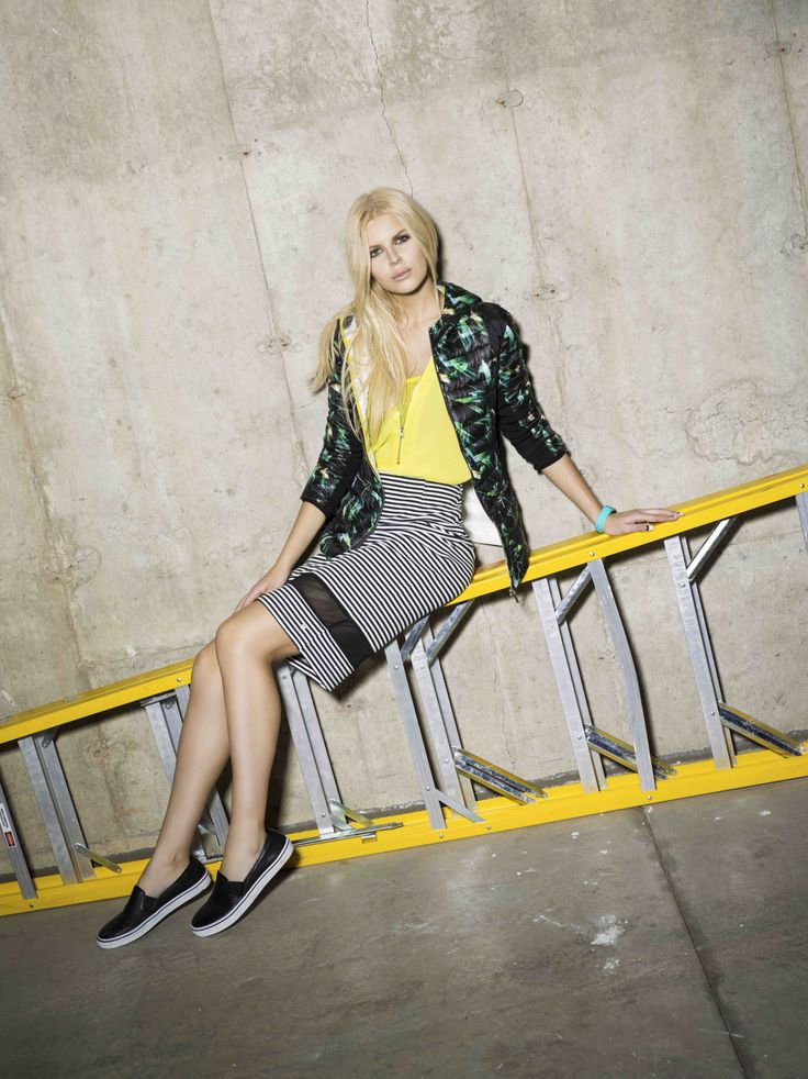 Model Katya Antonova for Point Zero's Spring/Summer 2015 advertising campaign. Find these styles at www.pointzero.ca
