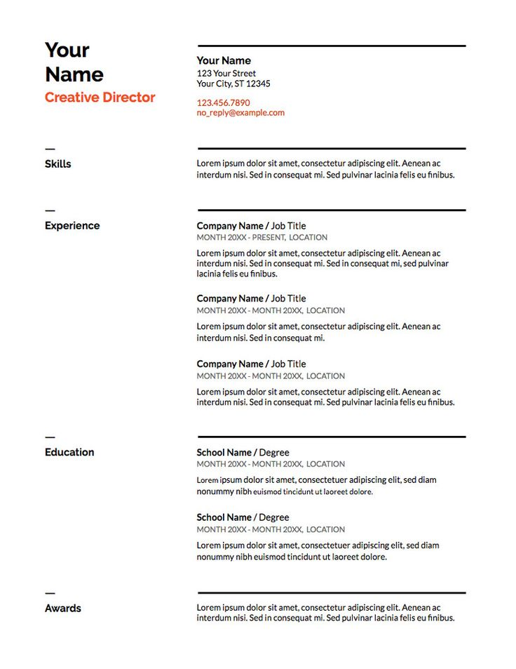 10++ Cool resume templates google docs ideas in 2021