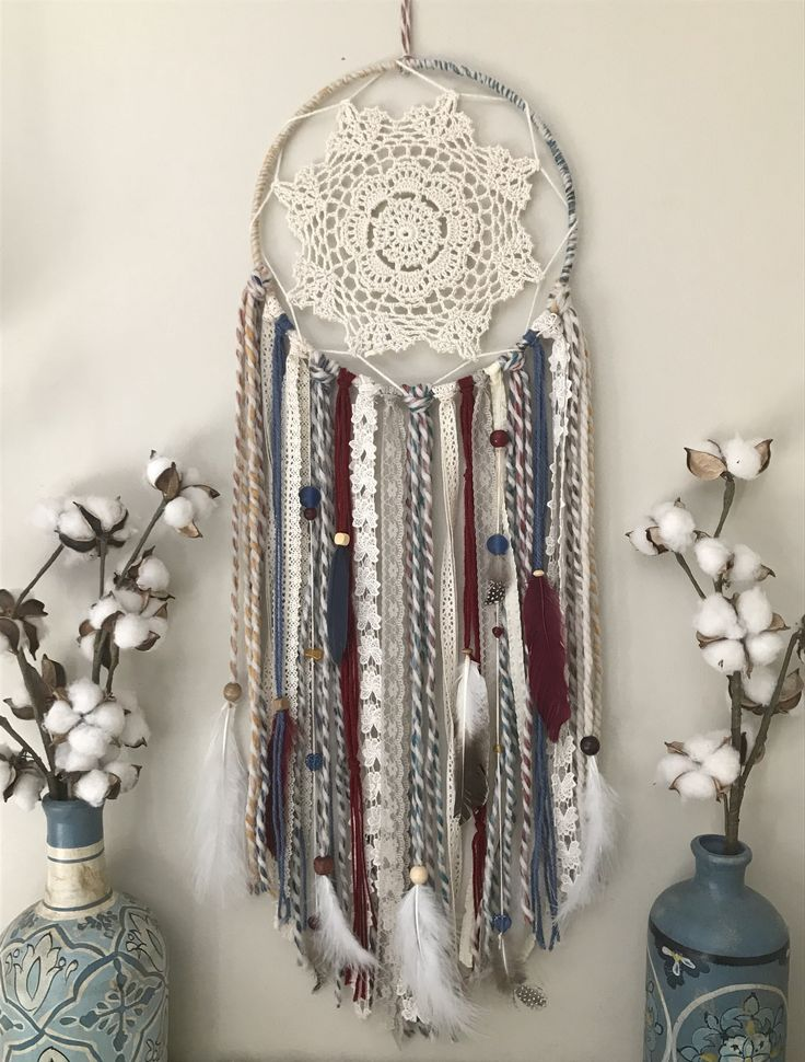 Large Colorful Dream Catcher