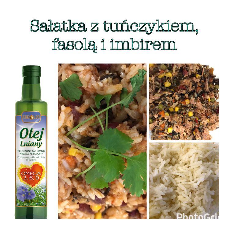 #zdrowe_drugiesniadanie Brak pomysłu? Dziki/biały ryż, tuńczyk czerwona papryka, kukurydza, groszek zielony, przyprawy: imbir, chili, czosnek, sól, olej lniany. Smacznego!