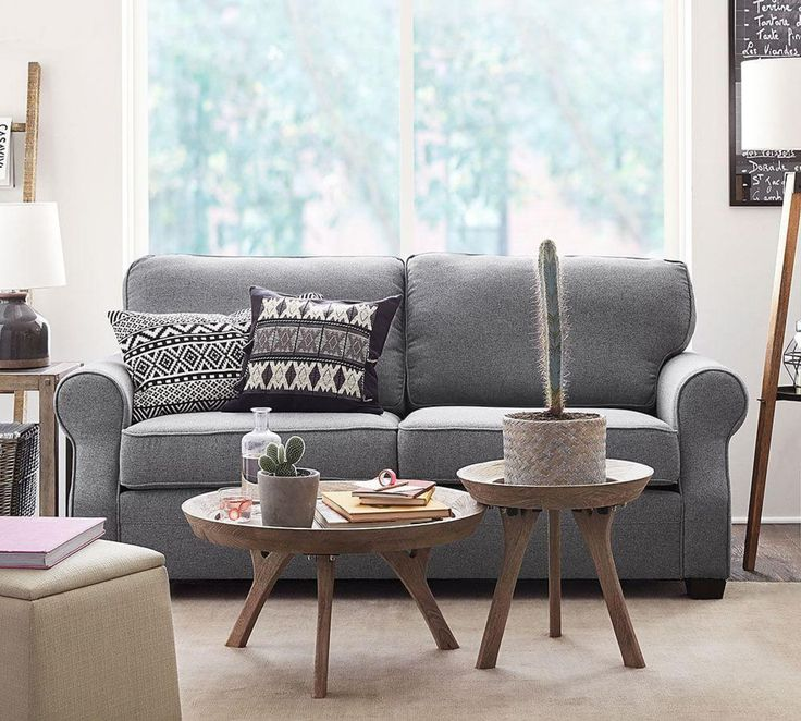 The Right Sofa Can Make Your Whole Space Feel More Comfortable, So Find One  That Fits! The SoMa Fremont Sofa Fits Value And Casual Style Into A Compact  ...
