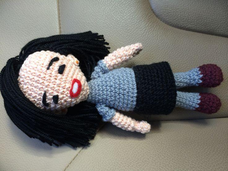Muñeca Elisa por Ana Saracho
