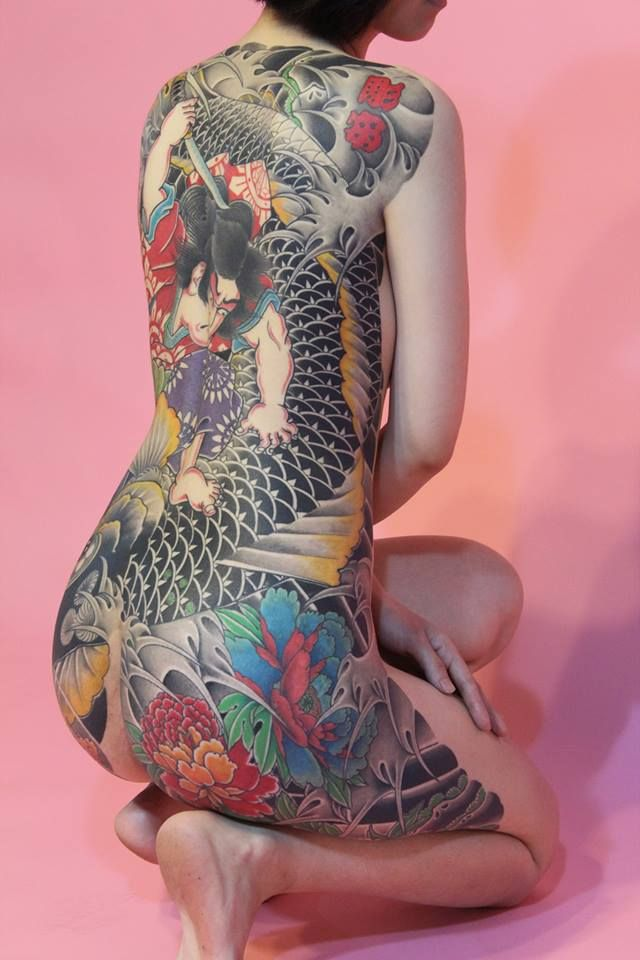 japanese tattoos irezumi meaning and history with pictures - 640×960