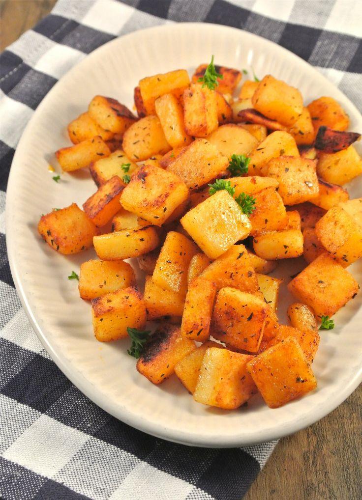 Kruidige aardappeltjes met zelfgemaakte cajun kruiden - Lekker en Simpel
